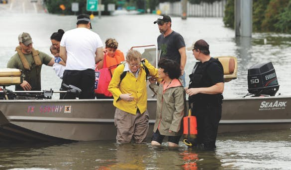 Hurricane Harvey Support Team